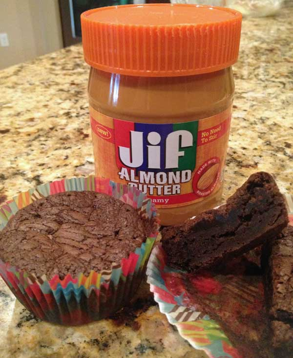 Jif Almond Butter Brownies