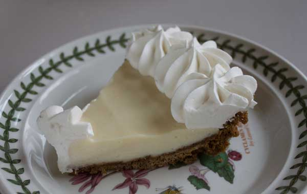Key Lime Pie Without Egg Yolks