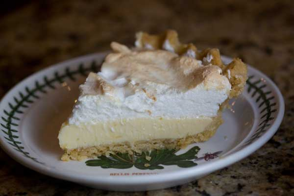 An Easy Lemon Meringue Pie Plus a Great Crust Recipe