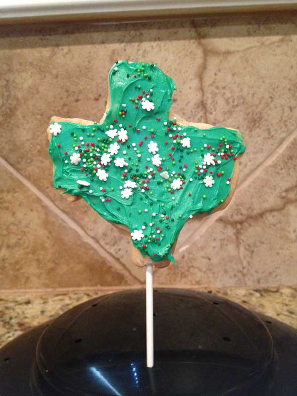 Texas  Cookie