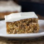 A Less Sweet Carrot Cake
