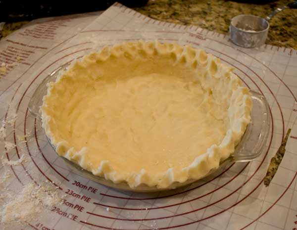 Chocolate Cream Pie Crust
