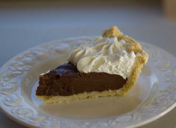 Crisco Chocolate Cream Pie