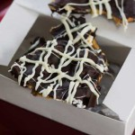 Peanut Butter Filled Pretzel Bark