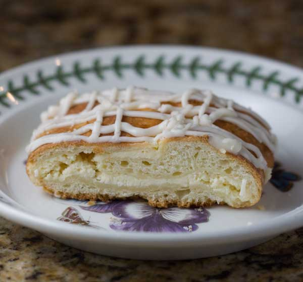No-Knead Cream Cheese Braids