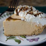 Quick Butterscotch Cream Pie