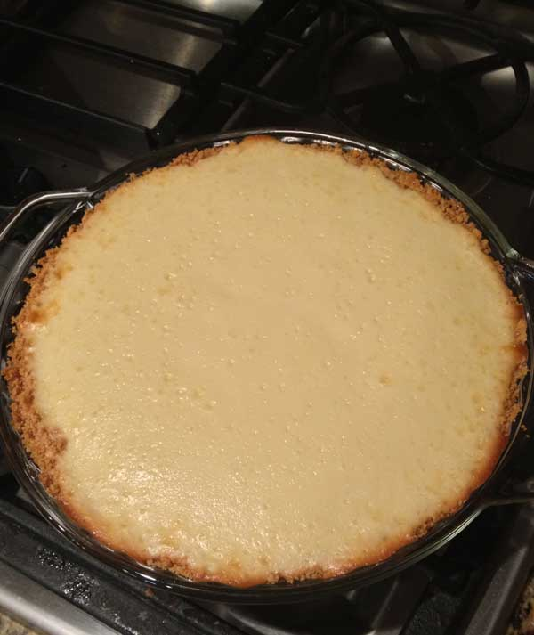 Pineapple Cream of Coconut Pie