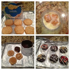 Girl Scout Trefoil Cookies