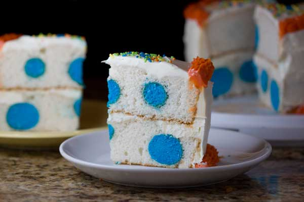 Pillsbury Baking Go Bold Giveaway and Polka Dot Bold Funfetti Cake
