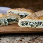 Feta and Spinach Stuffed Stromboli