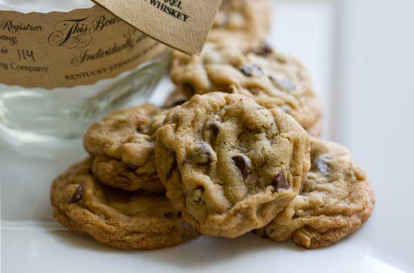 Spirited Chocolate Chip Cookies