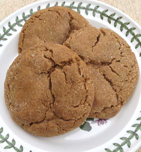 Colossal Ginger Cookies