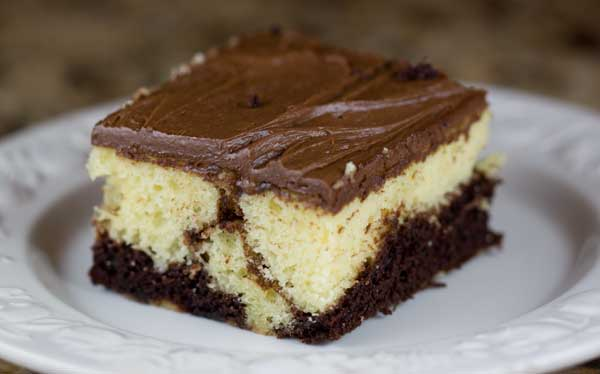 How To Make A Chocolate Marble Cake From Scratch