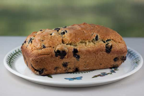 Fresh Blueberry Bread