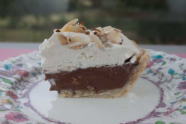 Evaporated Milk Chocolate Cream Pie