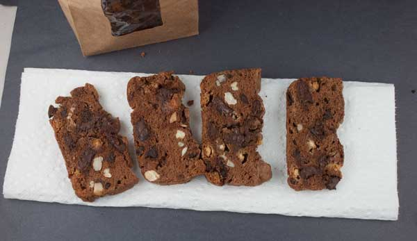 Double Chocolate Thin Biscotti