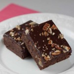 iced fudge brownie