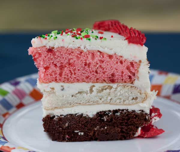 Cake Mix Neapolitan Layer Cake