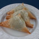 Individual Spinach Pies or Spanakopita