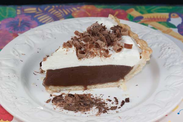 Luby's Chocolate Cream Pie