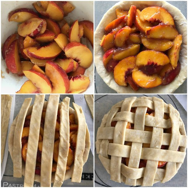 double crust peach pie