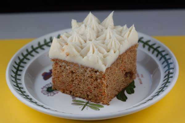 Sour Cream Carrot Cake