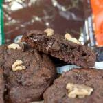 Chocolate Orange Walnut Cookies