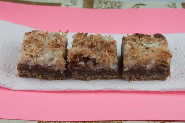 Cream of Coconut Dream Bars