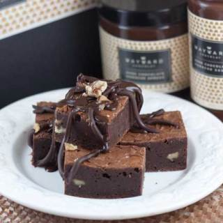 Wayward Chocolat Chocolate Fudge Brownies