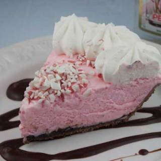 Frozen Peppermint Cream Pie