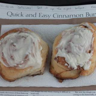 Quick Cinnamon Rolls With No Yeast