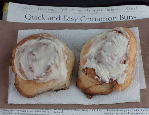 Quick Cinnamon Rolls With No Yeast Cookie Madness