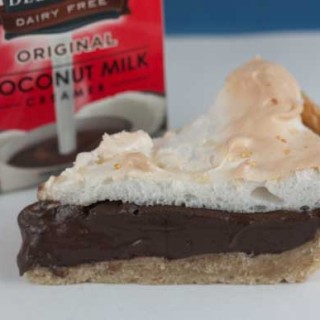Dairy Free Chocolate Pie