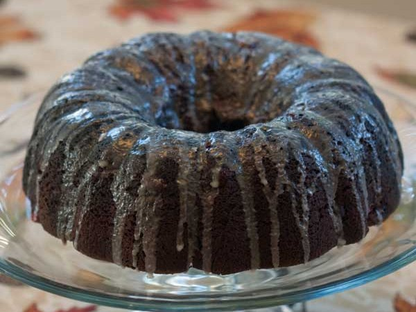 Chocolate Cherry Bundt
