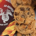 Sriracha Peanut Butter Chocolate Chip Cookies
