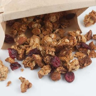 Granola Made With Condensed Milk