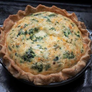 Quiche for Two or Three