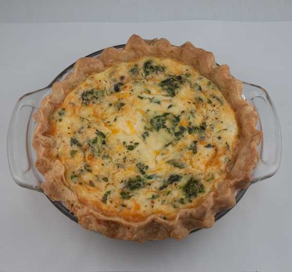 Quiche for two
