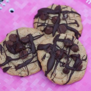 3D Caramel Delightfulls Chocolate Chip Cookies