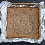 Butterscotch Oat Blondies