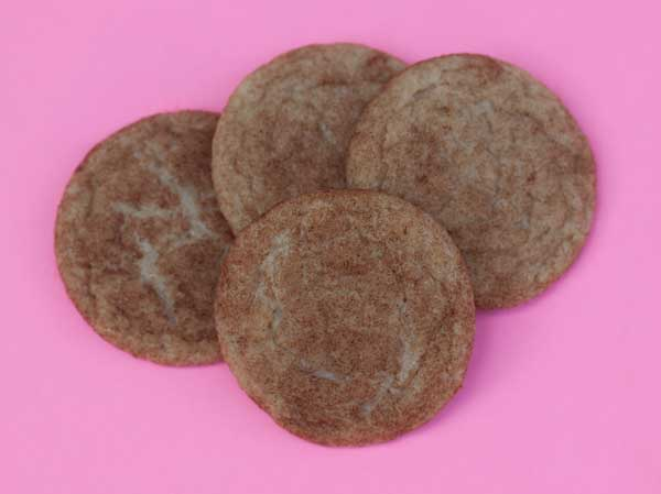 Brown Sugar Snickerdoodles with Butter Flavor Crisco
