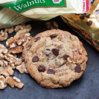 Walnut Toffee Chip Cookies