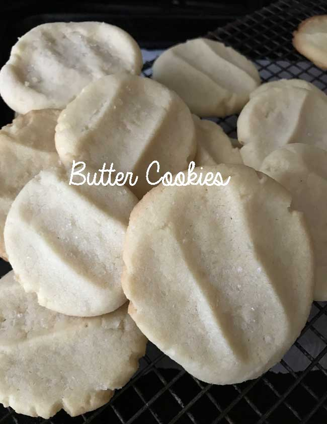 CPS Butter Cookies