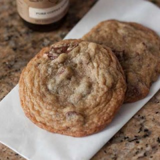 Chocolate Chunk Cookies with Coffee Extract