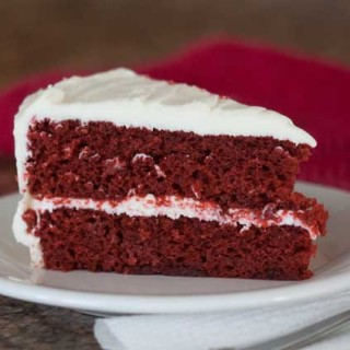 Red Food Coloring Paste in Red Velvet