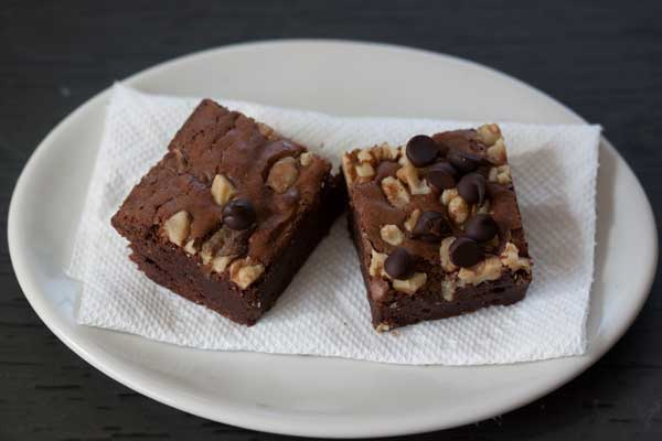 Trader Joe's Dark Chocolate Brownies