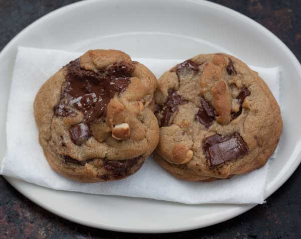 Chocolate Chunk Cashew Cookies