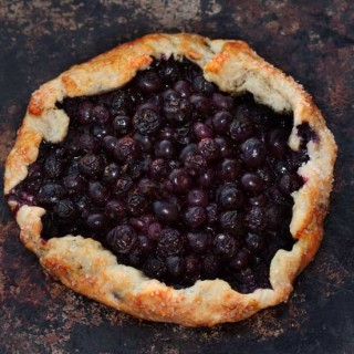 Blueberry Rustic Tart
