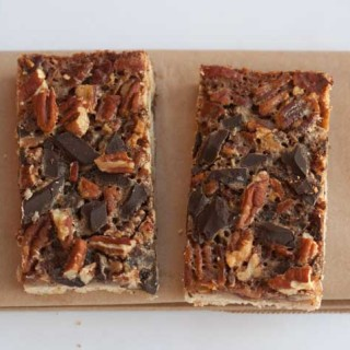 Texas Chocolate Pecan Pie Bars