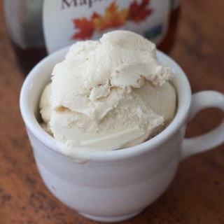 maple ice cream